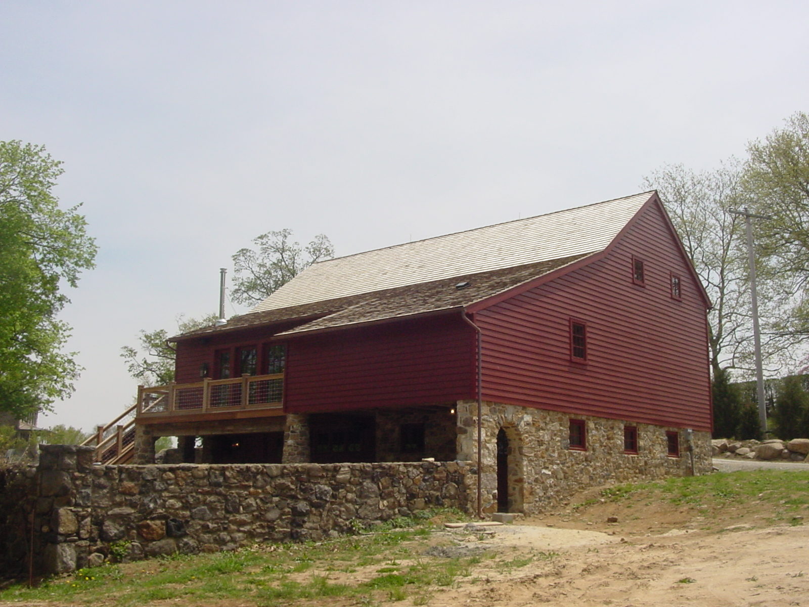 Luxury barn builders newtown square pa for Luxury barn builders