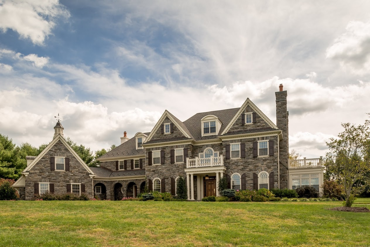 High end home builders willistown pa for High end house builders